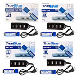 4-Pack (Crackhead Pack + Meth Pack + Fight Pack + Weed Pack) True Blue Mini USB Sticks for Playstation Classic Plug and Play