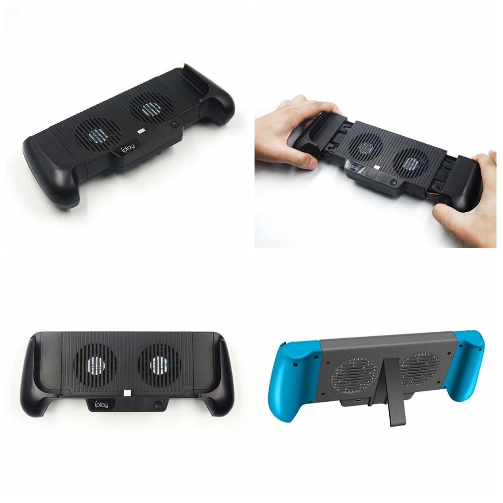 Charger Stand Cooling Fan Bracket for Switch Lite and Switch