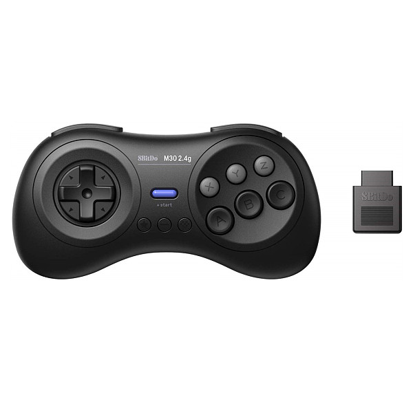 8Bitdo M30 2.4G Wireless Receiver Controller Set for Sega Genesis/Mega Drive /Analogue Mega SG