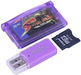 Micro SD Card Reader USB Adapter Supercard Mini SD Multi Games for GBA /NDS /FC /GB /PCE /SMS Game /GBA Format Movies E-books