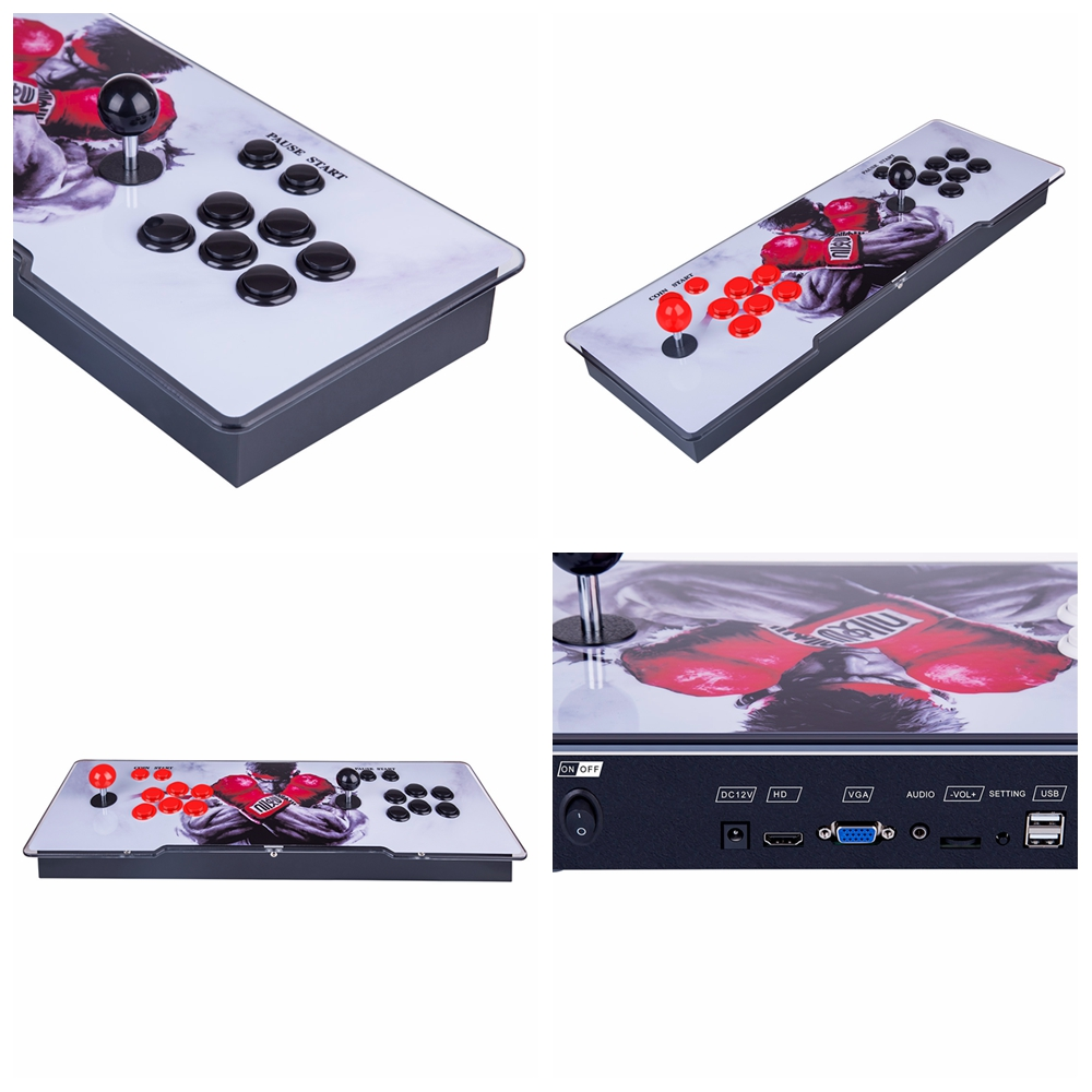 Pandora Box 11S 3003 Games Multi-player Arcade Game Console (Artwork: Red Dragon) (Metal Body)