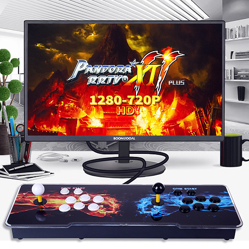 Pandora Box 11S 3003 Games Multi-player Arcade Game Console (Artwork: Double Fists) (Metal Body)