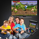 3000 Games with 2 Handles Retro Mini Handheld Arcade Game Console Double Players 4.3  Screen
