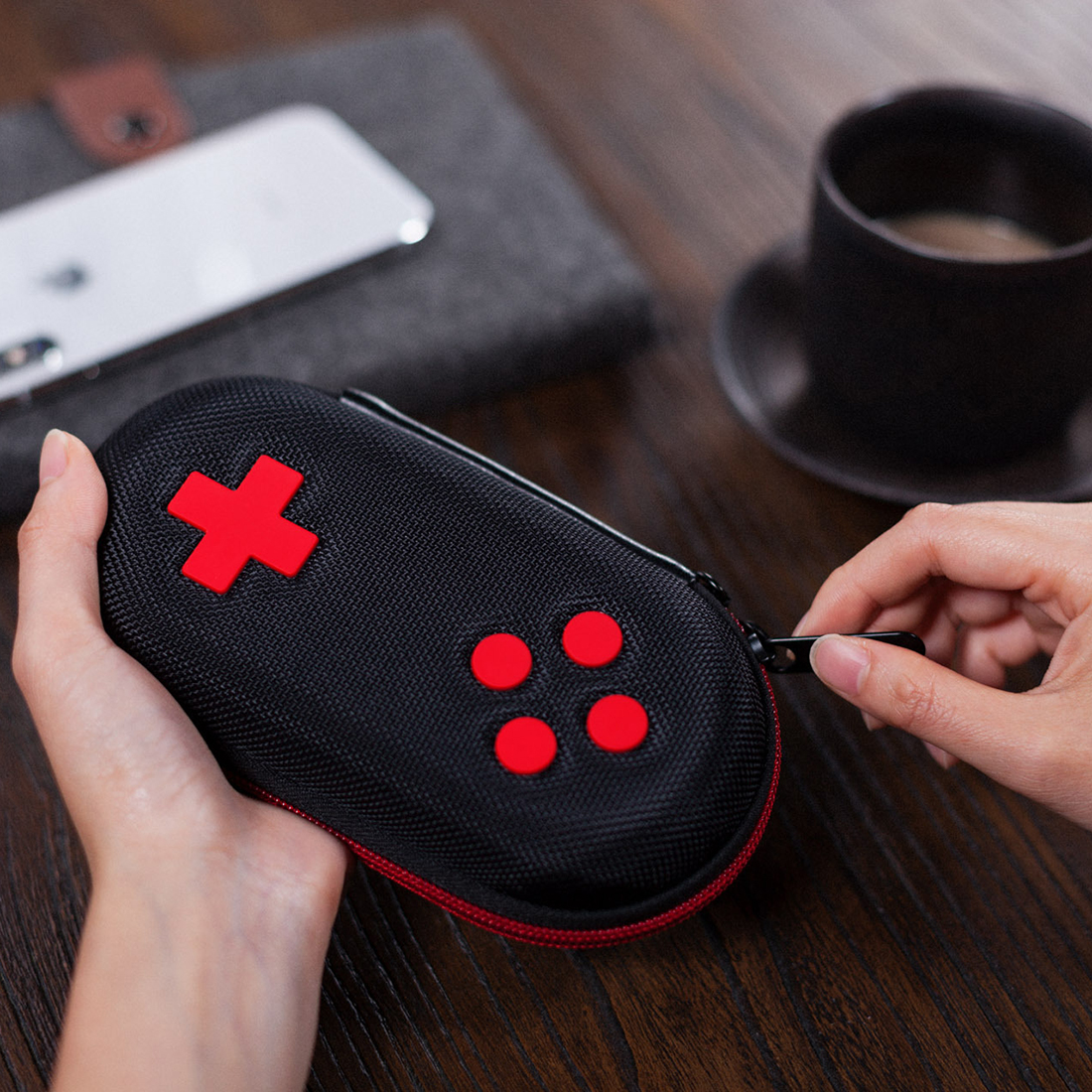 8Bitdo Classic Controller Storage Box Waterproof Wear Resistant EVA Protective Cover