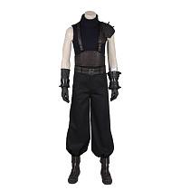 Final Fantasy VII Remake Cloud Strife Cosplay Costume Vest Gloves Full Set with Shoes