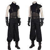 Final Fantasy VII Remake Cloud Strife Cosplay Costume Vest Gloves Full Set with Shoes