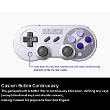 8Bitdo SN30 Pro Controller for Windows, Nintendo Switch, macOS & Android