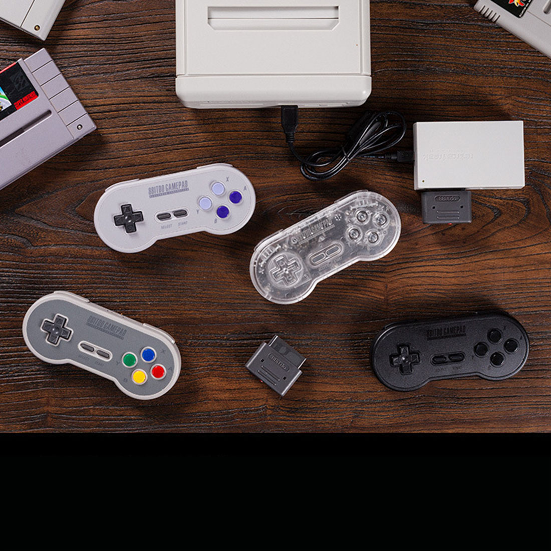 8Bitdo SN30 Classic Wireless Controller Bluetooth Gamepad with Receiver for Android/mac OS/steam