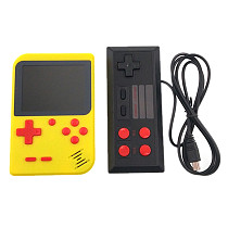 3-Inch LCD Screen 8-Bit Children Handheld Game Console with 400 Classic Games for 2 Players