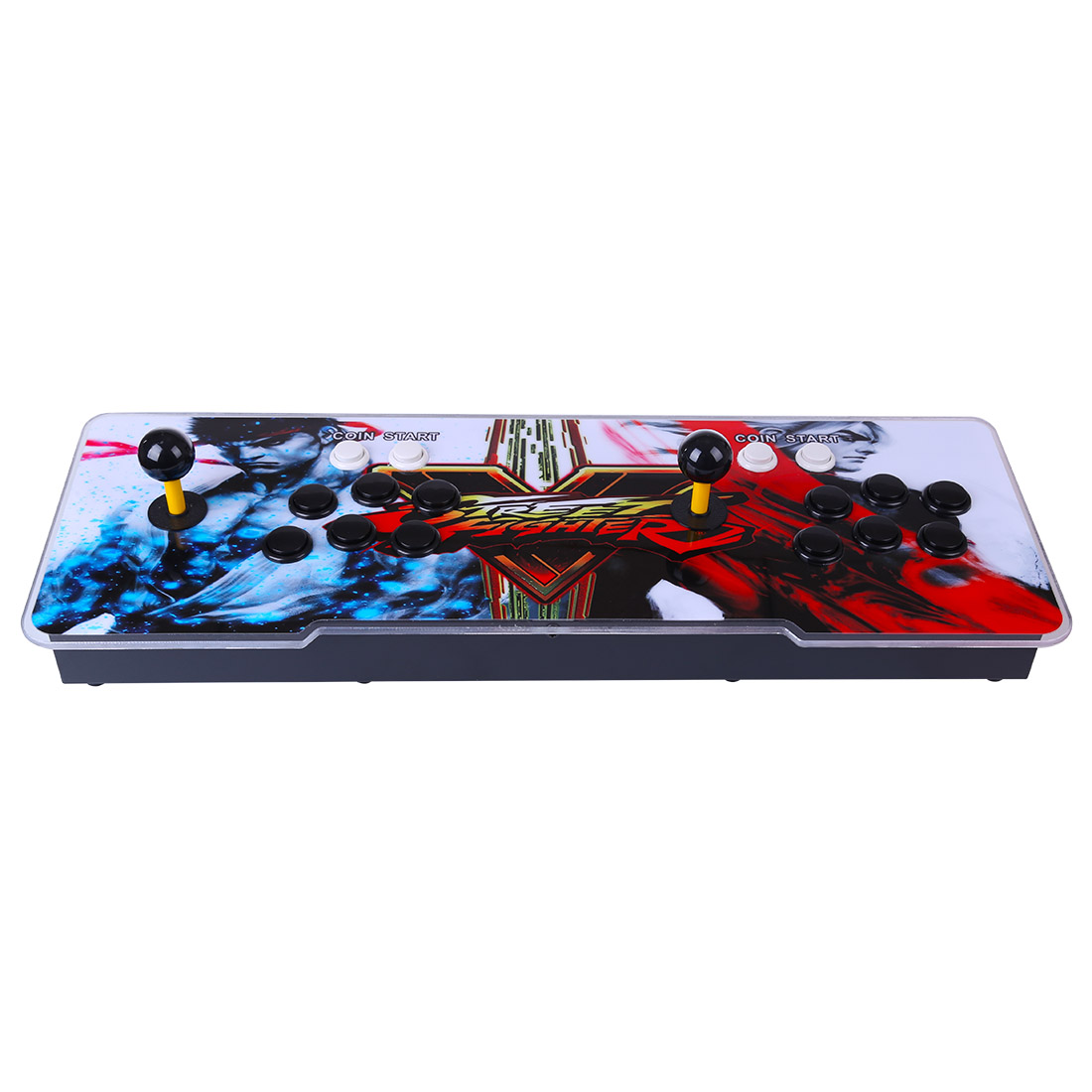 Pandora Box 3D 12S 3333 Games Multi-player Arcade Game Console (Artwork: Street Fighter V) (Metal Body)
