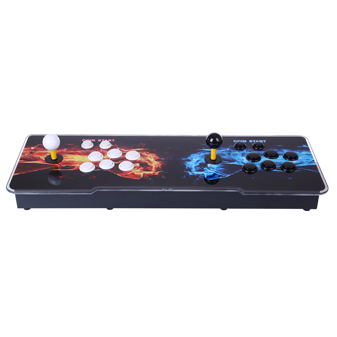 Pandora Box 3D 12S 3333 Games Multi-player Arcade Game Console (Artwork: Double Fists) (Metal Body)