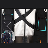 Arknight Doctor Cosplay Costume Role Play Outfit Set