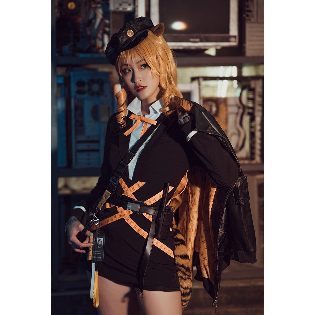 Arknight Cosplay Costume Women Outfit Full Set