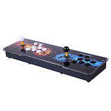 Pandora Box 3D 12S Wifi Version 2650 Games Multi-player Arcade Game Console, Can Download More Games (Black White Keyboard)
