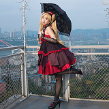 Fate Grand Order Moon Girlfriend Ereshkigal Cosplay Costume Lolita Dress