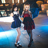 Fate Grand Order Moon Girlfriend Ishtar Cosplay Costume Lolita Dress