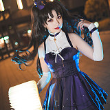 Fate Grand Order Moon Girlfriend Ishtar Cosplay Costume Lolita Dress
