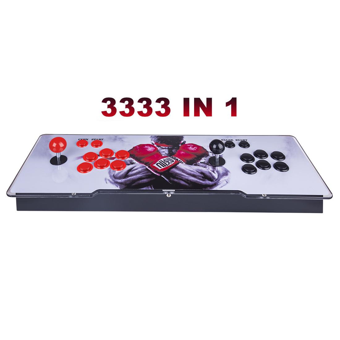 Pandora Box 3D 12S Wifi Version 3333 Games Multi-player Arcade Game Console, Can Download More Games (Artwork: Black Dragon)