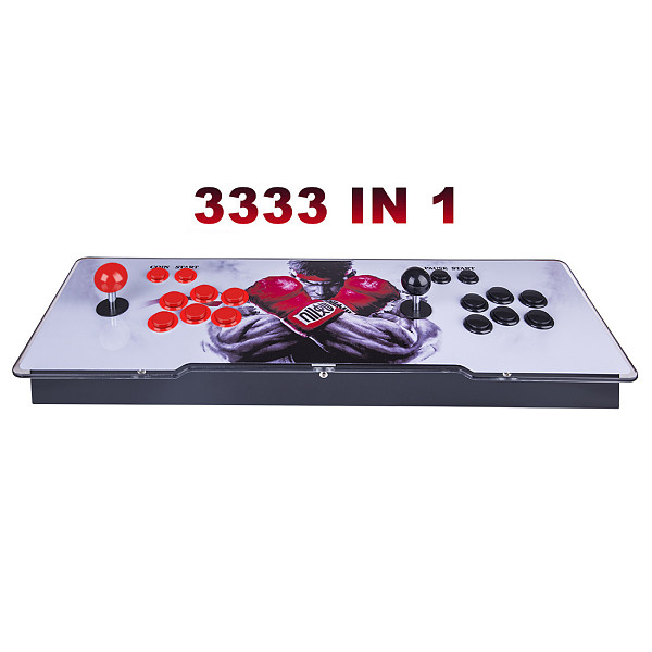 Pandora Box 3D 12S Wifi Version 3333 Games Multi-player Arcade Game Console, Can Download More Games (Artwork: Black Dragon)