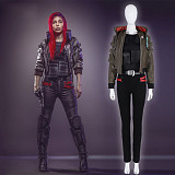 Cyberpunk 2077 V Cosplay Costume Outfit Full Set with Shoes
