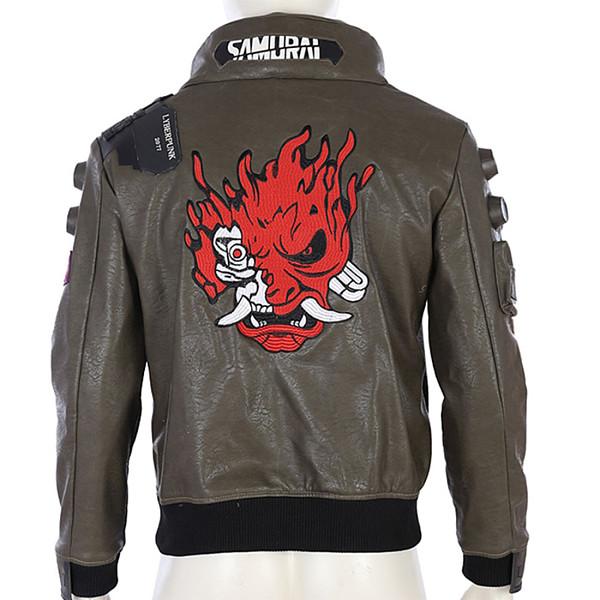 Cyberpunk 2077 V Cosplay Costume Men Jacket