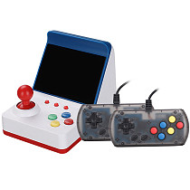 Retro Game Console Handheld Arcade Video Game Double Player Built-in 360 Classic Games with 2 Gamepads