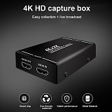 4K*2K USB3.0 HDMI Capture Card for Switch /PS4 /Xbox 1080P 60FPS Video Capture Card Recorder Box Device