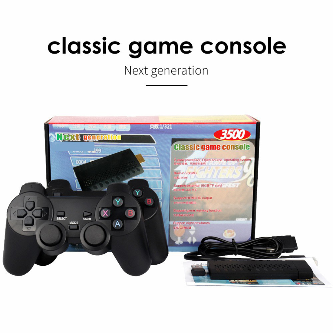 3500 Games Classic Video Game Console Family Arcade