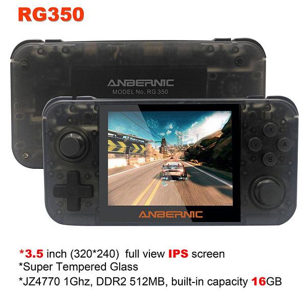 RG350 Handheld Retro Video Game Machine 3000 Games Console IPS Screen 3.5-Inch