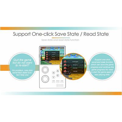 Pandora's Box Mini Handheld Bluetooth 4.0 HD Game Console HDMI Output Portable Arcade (Preloaded 2,000 Games + Game Market 10,000 Games)