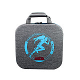 Carrying Case Multi-Compartment Storage Bag for Fitness Ring Switch Game Console Gamepad