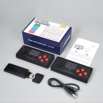 628 Games Console Mini HD Game Box with Wireless Controllers USB Cable