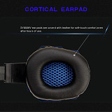 Stereo Headphone Gaming Headset with Light for PC /PS4