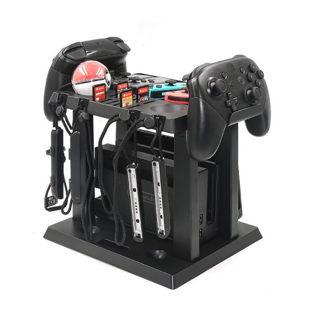 Multifunctional Game Storage Stand Rack Holder for Switch