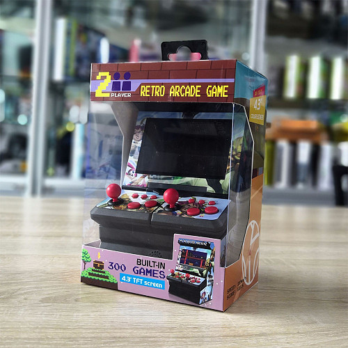 300 Games Handheld Game Console 8 Bit Arcade Game Player