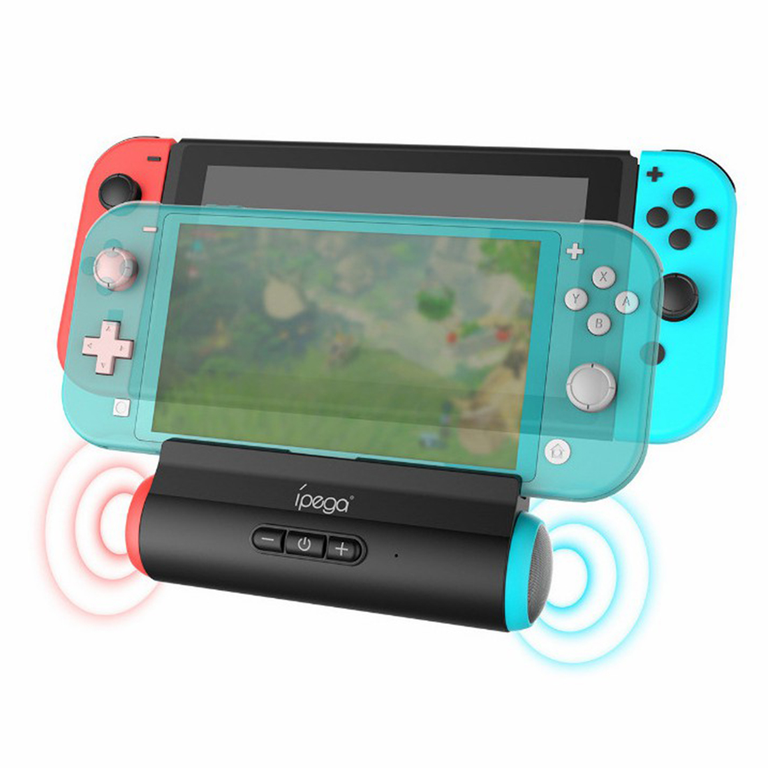 Console Charging Sound Stand Game Console Base Charger Speaker for Switch / Type-c Phone