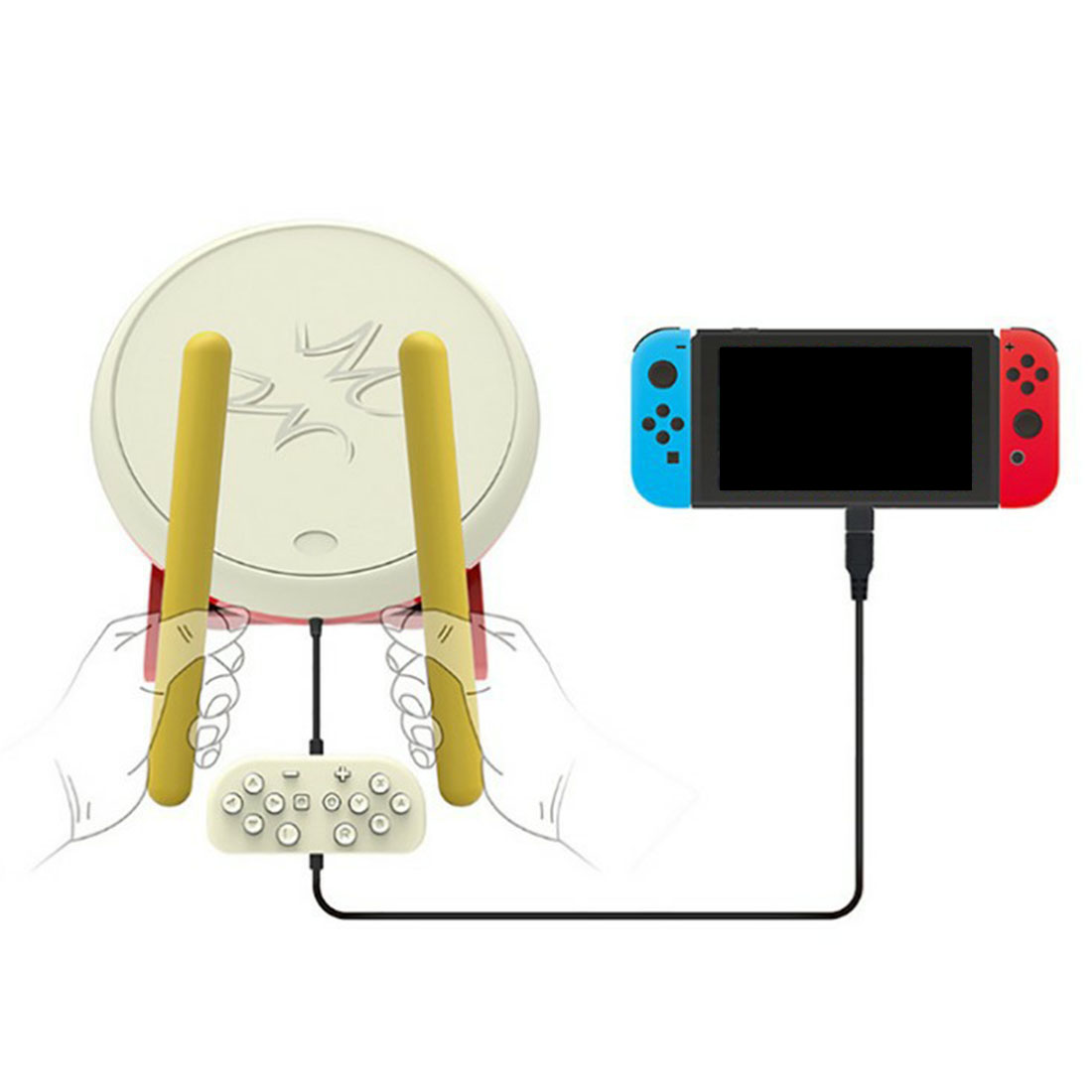 Drum for Switch Taiko Drum Master