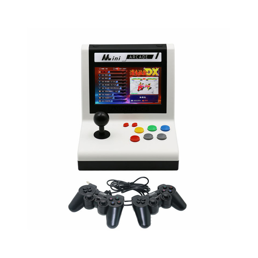 Pandora Box DX Arcade 3000 Games Mini Retro Video Game Console (Wired Controllers)