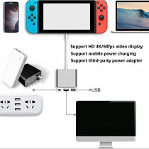 Portable TV Base HDMI Converter for Switch