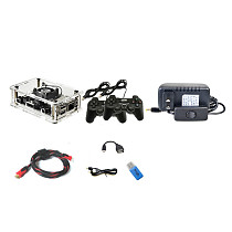 Mini TV Game Box 7S+ Console Fighting Game Arcade with Wired Controllers