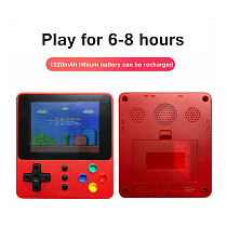 500-In-1 Handheld Game Console Retro Game Mini Arcade Machine (Double Players)