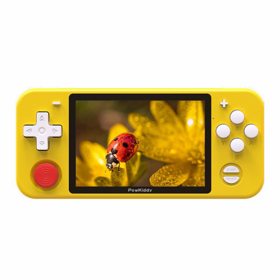 PowKiddy RGB10 Retro Emulation Handheld Game Console Open Source System Retro HD Game Machine