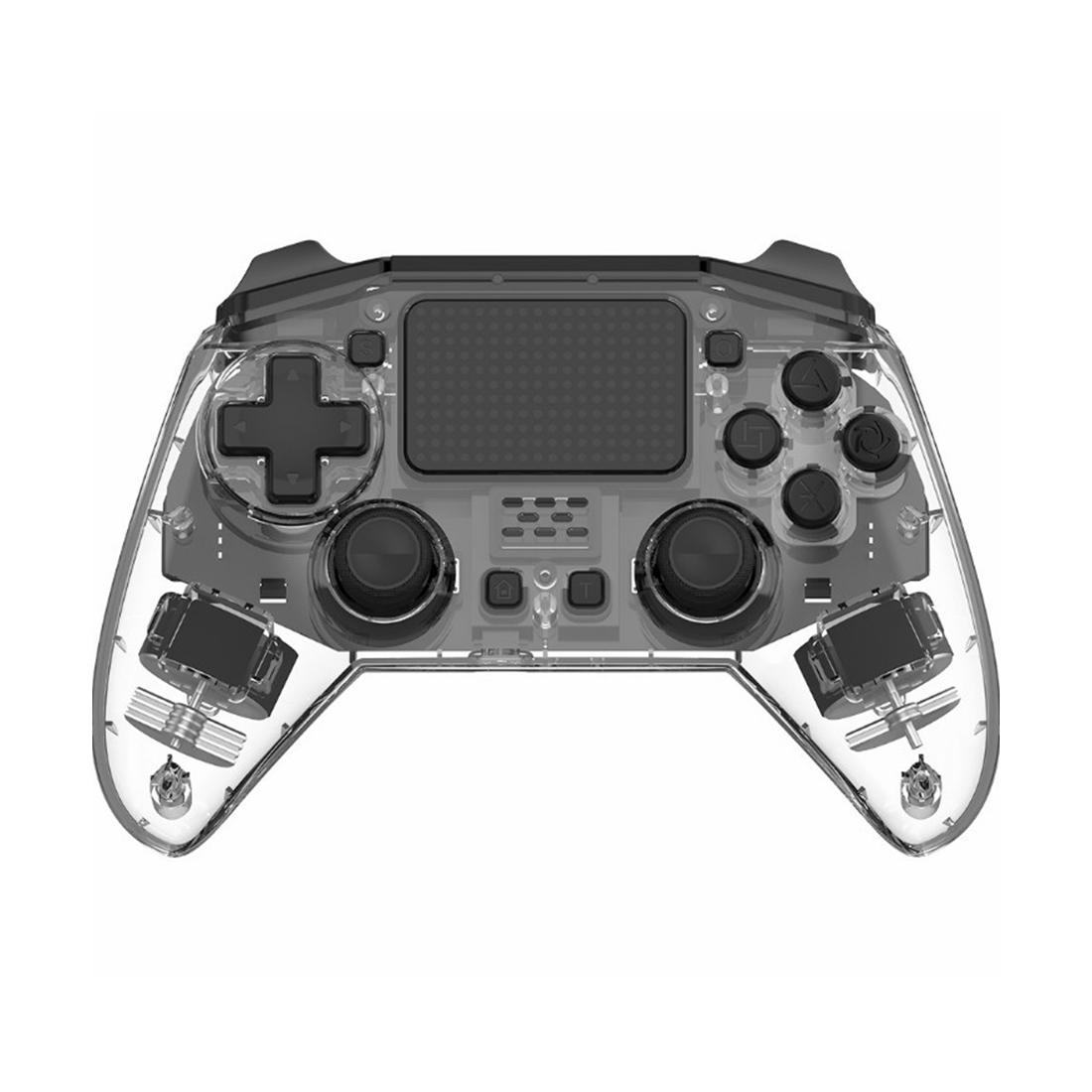 PS4 Wireless Controller Bluetooth Gamepad - Transparent