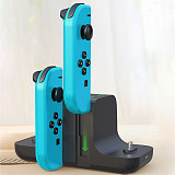 6-in-1 Charging Dock Joycon Controller LED Charger Gamepad Charging Stand