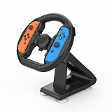 Small Handle Steering Wheel Seat Frame for Switch Joycon