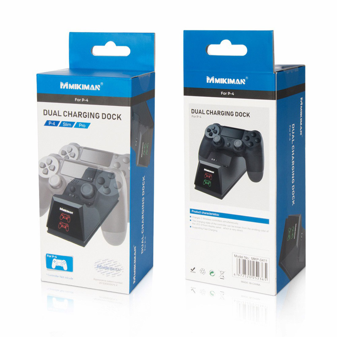 Dual Charging Dock for PS4 /Slim /Pro
