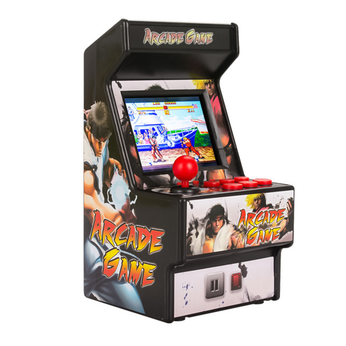 TFT LCD Screen Console Mini Arcade 16 Bit Game Player