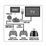 Host Video Multifunctional Base Docking Station for Switch
