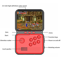 Mini Handheld Retro Video Game Console Kids Relax Game Machine