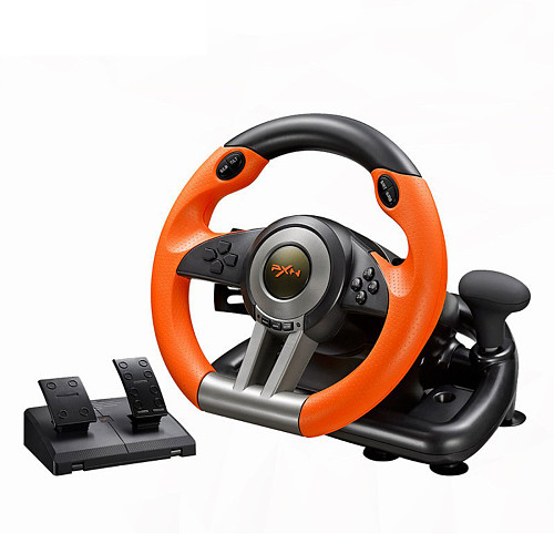 PXN-V3II Racing Games Steering Wheel Game Controller for PS4 /PC /Switch /Xbox